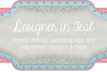 Designer in Teal blog