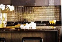 Metallics, Shimmer & Shine / Popular in the 1970s, metallics are making a strong resurgence in interior design.