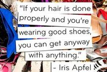 Fashion Icon Iris Apfel Group Board / Fashion icon Iris Apfel group board: What's not to like about this woman! She tells like it is - she lives life to fullest and she carries so much wisdom to share with us! Oh and she's got a style of her own that is so fun and daring! / by Pinterest Marketing Expert Anna Bennett | Pinterest Account Management Services| Pinterest Consultant for Businesses | Author of Pinterest Marketing for Business | Pinterest Tips + Tricks for Business