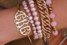 Monogrammed Bracelets