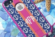 Monogrammed OtterBox / Protect your electronic baby in style with one of Three Hip Chicks monogrammed iPhone 4/4S or 5 OtterBox Cases. Our collection of monogrammed OtterBox are amazing!  Our selection of monogram iPhone 4 Otterbox® and monogram iPhone 5 Otterbox® cases feature the most popular patterns and colors available and have a fresh, modern preppy look and feel.