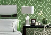 Trellis Patterns / A look at all different types of trellis patterns and how to use them in the home.