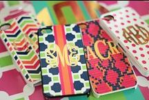 Monogrammed iPhone 5C Cases / Our stylish monogram iPhone 5C cases are the latest addition to the Three Hip Chicks monogram iPhone case collection. Our collection of Three Hip Chicks monogram iPhone 5C cases come in a wide assortment of patterns, styles and colors.