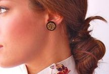 Monogram Earrings / Three Hip Chicks carries a beautiful assortment of monogram earrings.  Our sterling silver script post earrings are our number #1 seller!   We have many shapes and sizes in our sterling silver monogram earring collection that you can engrave with a traditional interlocking, times roman or maybe a modern circle font to compliment your style. Our gold tone and colorful, acrylic monogram earrings are a trendy way to personalize your look.