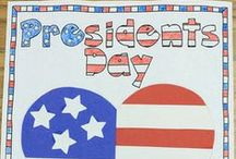 Presidents' Day Activities / by Genia Connell
