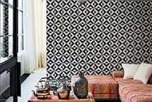 Global Chic Decor / The ethnic trend is as hot as ever right now, and we don't see it going anywhere! Get inspired with these global-chic rooms