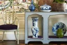 Asian-Inspired Decor / Asian-inspired patterns are right on trend for 2014. Bring the Eastern look into your home with these decorating ideas.