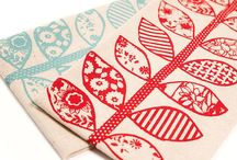 Fabric art - tela ilustrada / Fabricante illustration art textil tela pattern