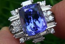 TANZANITE / One of the rarest gems in the world. Found only in Tanzania