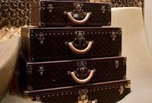 Louis Vuitton Luggages / by Nads