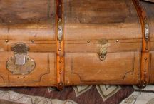 I love vintage Luggages. / They tell stories of places they have been