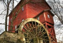 Old water mills