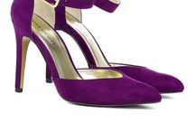 Purple shoes and purses