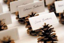 Christmas Table / Ideas decoracion mesa #navidad - Christmas table settings #christmas #table #decorating #tablescapes