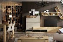 Salon / Living / Salon - Living room  Catálogo Cubika 2015 www.exojo.com #salones #livingroom #decoracion #salon #mueble #grupoexojo