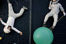 Astronautenparty / Kindergeburtstag mal im All? Anreise per Rakete? Kein Problem !