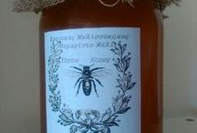 Cretan Bee Garden΄s products  _ Τα προϊόντα του Κρητικού Μελισσόκηπου / Our products