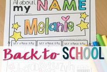 CTR Back to School / Classroom tested resources for Back to School.