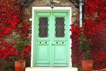 Portas ♡ / Portas. Doors.