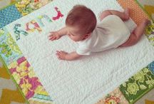 B is for Baby Quilts / Patterns and images for baby quilts and quilted wall hangings.