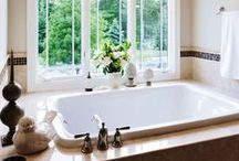 Fabulous Bathrooms / Function meets form in these elegant bath spaces where lighting adds interest and style.