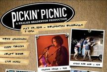 Pickin' Picnic / Realize Bradenton's Pickin' Picnic is a free outdoor music concert showcasing local talent and held at the downtown Bradenton RiverWalk.