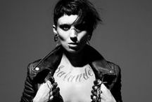 Modern Heroine: Lisbeth Salander / SHOOT DATE: WED 13 NOV Moodboards for my Modern Heroines photo project celebrating iconic heroines in cinema from my generation of film (since 1990s). fashion/ film/ hair & beauty inspiration