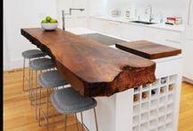 Wood in Kitchen