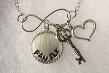 Creations by Sister Charm / Hand stamped personalized jewelry to inspire and bring joy to all who wear them.