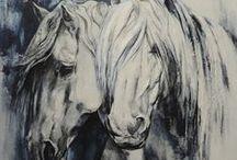 Peintures en technique mixte / Présentation de mes créations en technique mixte: peinture acrylique et impasto.