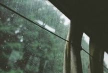 rain | peace / When it rains