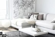 Living - Arch & Decor / Ideas for living spaces
