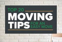 Moving Tips / Your go-to board for all things moving. Pack, schedule, organize, and relocate by using the best tricks of the trade.