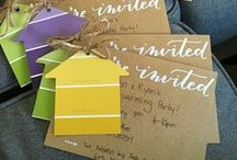 Housewarming Party Ideas / Find the motivation to unpack by planning a housewarming party. Use this board to feel inspired and throw the best housewarming on the block.