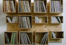 Vinyl Record Holders / Ideas for holding vinyl collections