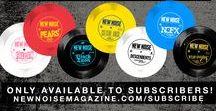 New Noise Advertisements / New Noise Magazine advertisements