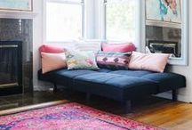 Cool Small Spaces / Don't despair just because your living space is small. Small spaces are cool spaces if you know how to make the most of it.
