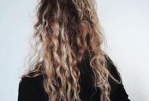 * Hair. *