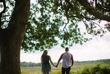 New Forest Engagement Shoot / Beautiful Hampshire New Forest scenery engagement/portrait shoot ideas