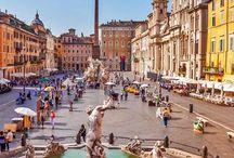 Fontane / Piazza Navona - Roma