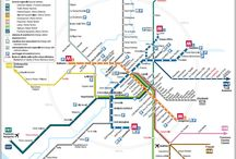 Map metro city
