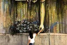 Street Art / Cherries by Alice Pasquini