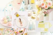 Weddings || Pastels / Sweet as sugar, pastel ideas for your wedding.