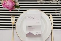 Place Settings / Dress up the table!