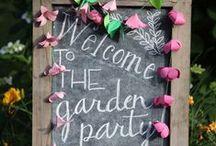 Garden party !