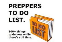 All Things: Prepping / It pays to be prepared. / by Victoria Christian