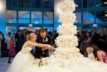 WEDDING CAKES  / Many kinds of wedding cakes.  From simple to sublime to unusual!! / by Marian Alsobrooks
