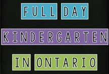 Full Day Kindergarten in Ontario / A collaborative board for kindergarten educators in Ontario. Email me at msmakinson@gmail.com if you would like to join! Feel free to post pictures of your classroom/from your blog!