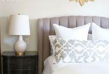 BEDROOMS : OVIATT DESIGN GROUP / Bedrooms we've styled and designed.