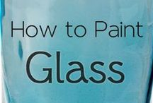 Glass / Mostly craft and DIY ideas related to glass / by Victoria Christian